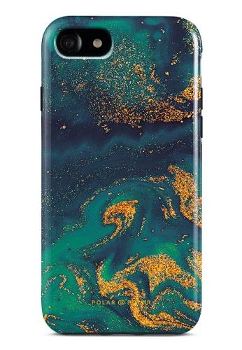 Polar Polar green Green Night Quicksand Dual-Layer Tough Case Glossy For iPhone SE (2nd) / 8/7 B5C37AC0471653GS_1