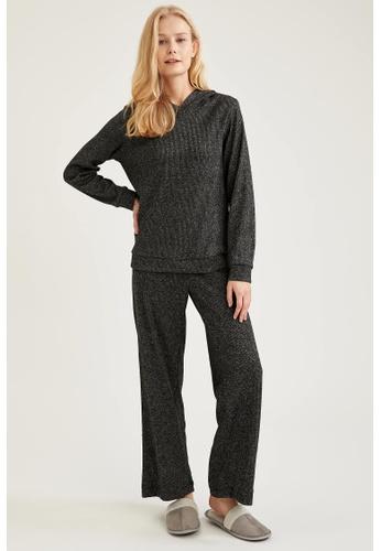 DeFacto grey Woman Homewear Knitted Set 8D558AA5909A5BGS_1