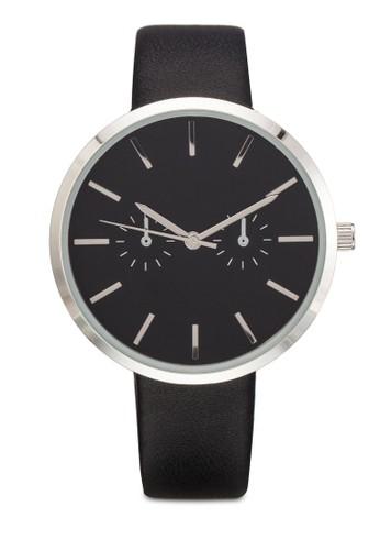 經典圓框PU 手錶, 錶類esprit tw, 飾品配件