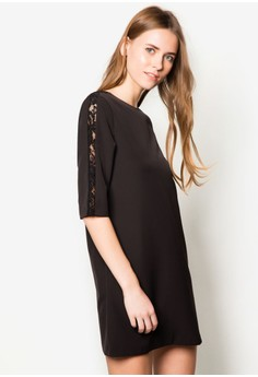 Collection Lace Insert Shift Dress