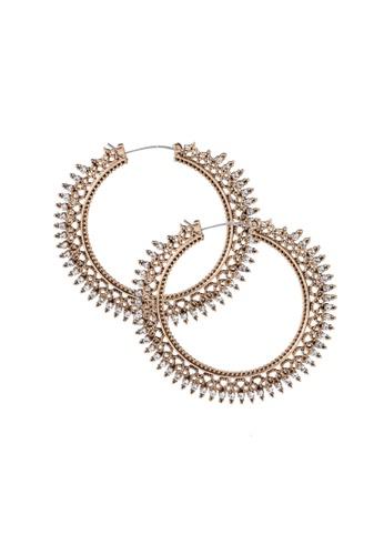 ALDO gold Jaranga Pierced Earring FD4A5AC48196F7GS_1