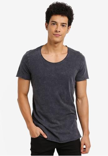 Jack & Jones grey Casual T-Shirt B446AAAE61F0F3GS_1