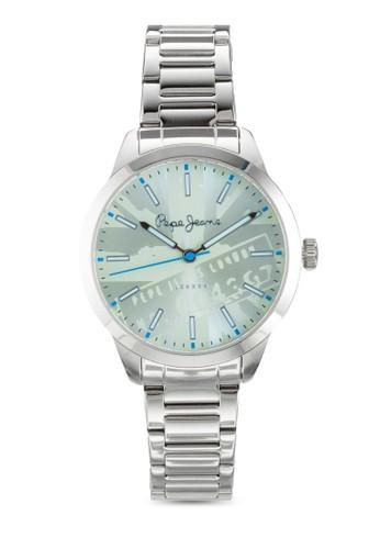 R235esprit outlet3121506 Meg 印花不銹鋼女錶, 錶類, 飾品配件