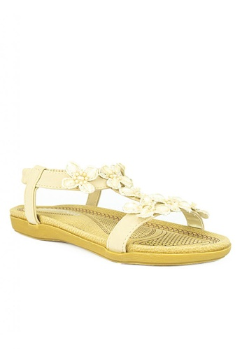 Mario D' boro Runway beige CR 24680 Beige Flat Shoes C4381KS6ECBE57GS_1