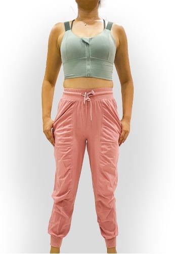 OHMfinity pink OHMfinity JODY Relax Fit Pants - Blush Pink 11119AA8D48FEBGS_1