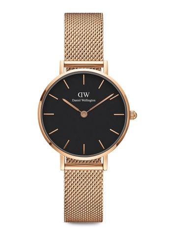 Daniel Wellington gold Petite Melrose Watch 28mm DA376AC0SBU6MY_1