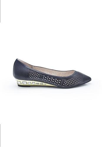 Elisa Litz black Kenne Flats (Black) EL365SH0FI2SSG_1
