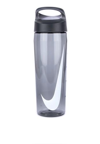7dd559bd8b35 Nike black and grey Nike TR Hypercharge Twist Bottle 24oz E3B67AC8D58313GS 1
