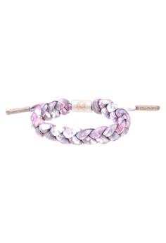 Carnation Shoe Lace Bracelet