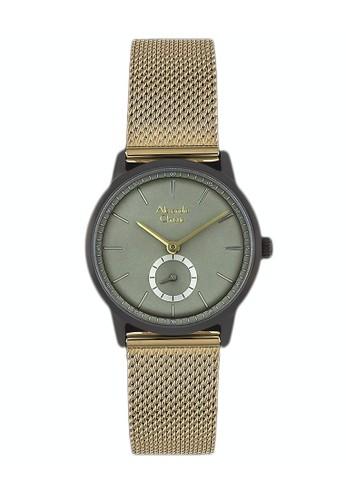 Alexandre Christie gold Alexandre Christie Jam Tangan Wanita - Grey Gold - Tali Pasir - 6498 LSBGBLG A6B23ACD50BCB1GS_1