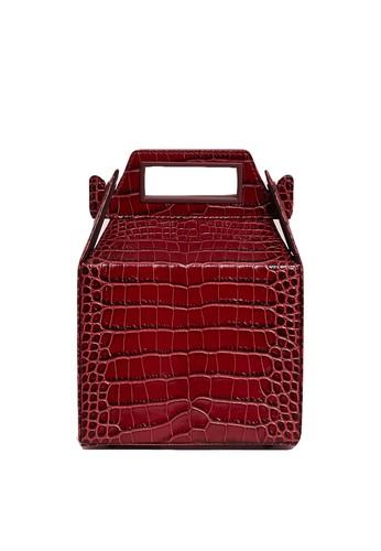 Pop & Suki red Takeout Bag 01E4AACD8E030AGS_1