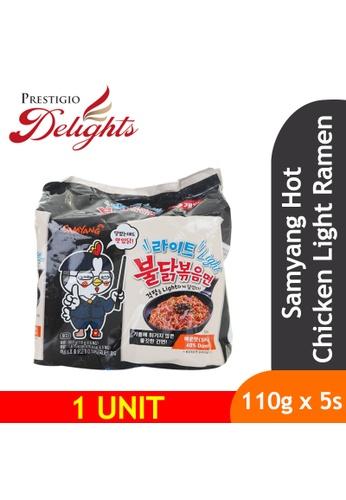 Prestigio Delights black Samyang Hot Chicken Light Ramen 110g x 5s 01CB3ESBE53AE5GS_1