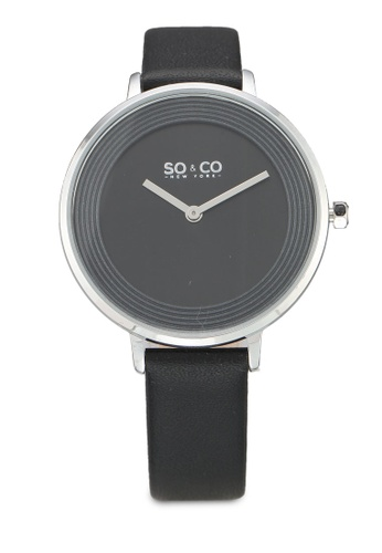 SO&CO black Madison Watch 5204L A48FCACBFC6CA8GS_1