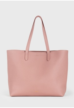 dbbcf858f4 Tocco Toscano pink Aimee Leather Tote (Dusty Pink) 69A44AC78037ECGS 1