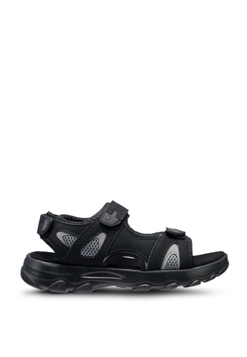 Louis Cuppers 黑色 Louis Cuppers Sandals & Flip Flops BA713SHF1F5250GS_1