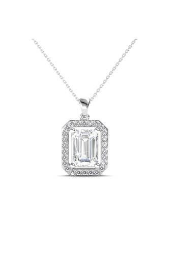 Her Jewellery silver Her Jewellery Regal Pendant with Necklace Chain with 18K Gold Plated 1228FAC161B1C8GS_1