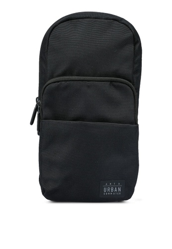 Anta black Great Traveller Chest Bag A6366AC542A5BCGS_1