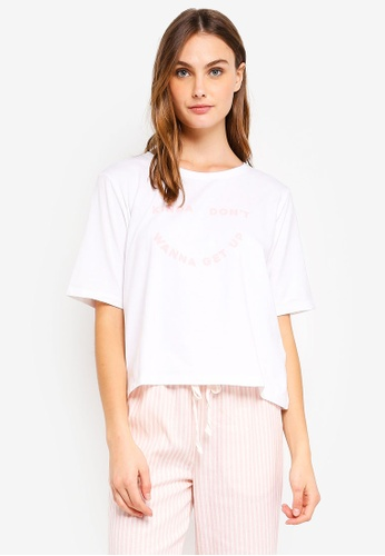 Cotton On Body white Boxy T-Shirt 3228DAAD6E0166GS_1