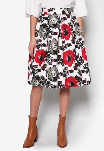 褶飾及膝裙, 服飾, zalora taiwan 時尚購物網服飾