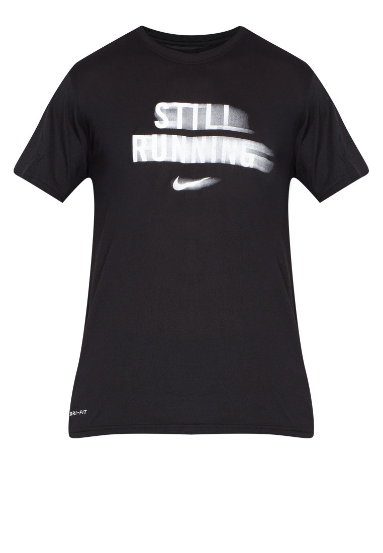 Black Nike T Dry Men's Nike White Running Shirt wYZxHTTR