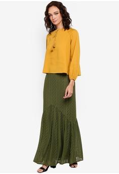 020ff089f 14% OFF Zalia Lace Gathered Trumpet Skirt S$ 34.90 NOW S$ 29.90 Sizes XS S  M L XL