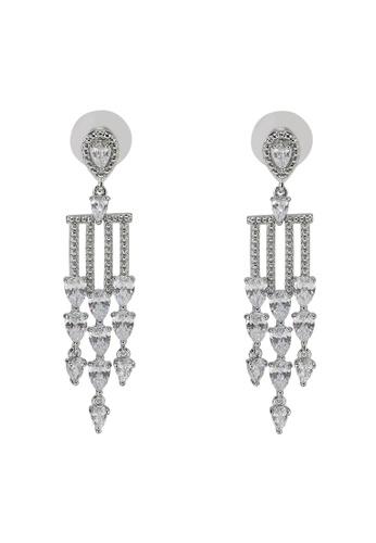 ALDO silver Europapark Pierced Earrings 28386AC72666DEGS_1
