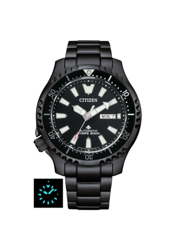 Citizen black CITIZEN NY0135-80E PROMASTER DIVER BLACK DIAL STAINLESS STEEL MEN'S WATCH 39A40ACB02FE4AGS_1