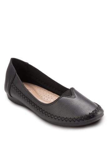 舒適休閒平底鞋,esprit 工作 女鞋, 鞋