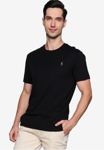 polo ralph lauren black Slim Fit T-Shirt 3D45FAA110A1BDGS_1