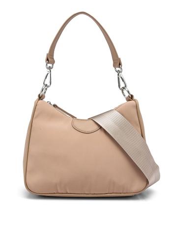 Forever New beige Jordyn Curved Top Shoulder Bag 46D9FACA21A00AGS_1