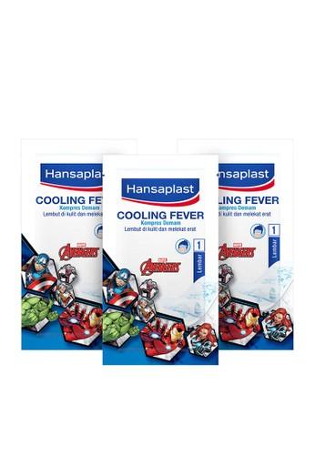 Hansaplast n/a Hansaplast Cooling Fever Kompres Demam Avengers - Best Value 3D043ESBB2CD4AGS_1