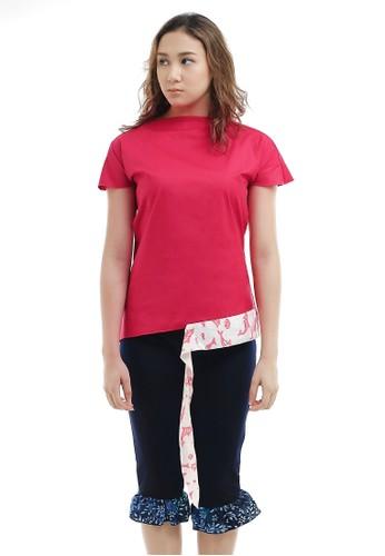 Gi & Ne (Giane) Official pink Longevity Summer Casual Office Blouse Top 90679AA84EEBF1GS_1