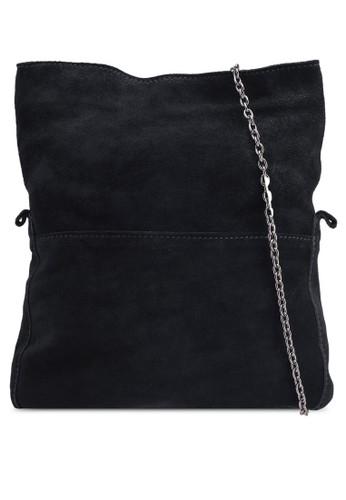 Vero Moda black Jolie Suede Cross Over Bag 574CFACBB02DC9GS_1