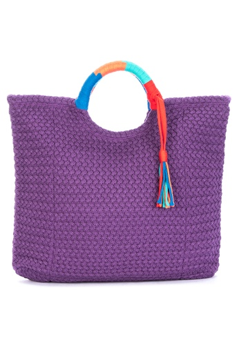 CHILL BY NOOKS purple Bayong With Tassle 5BD6EAC6961B96GS_1