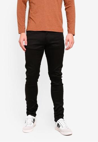 Electro Denim Lab 黑色 Calypso-Slim Tapered Jeans 33F3AAA2AB127CGS_1