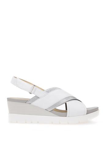 Geox white Marykarmen Plus Sandal 1C0A1SH5D7CFD3GS_1