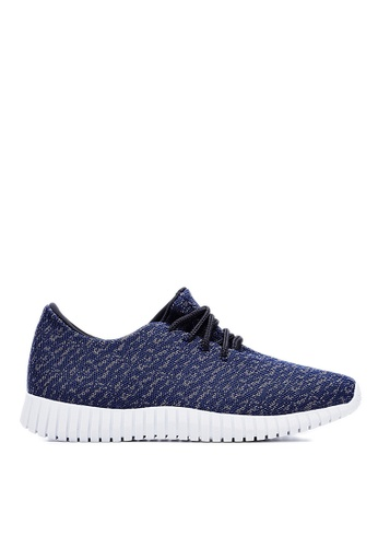 Life8 navy Weaving Cloth Spring Sport Shoes-09465-Navy LI286SH13PSKMY_1