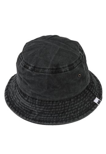 Milliot & Co. black Trinidad Bucket Hat 72920AC19A7353GS_1