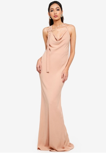 Alia B. brown Letitia Evening Dress 9F324AA470C3F9GS_1