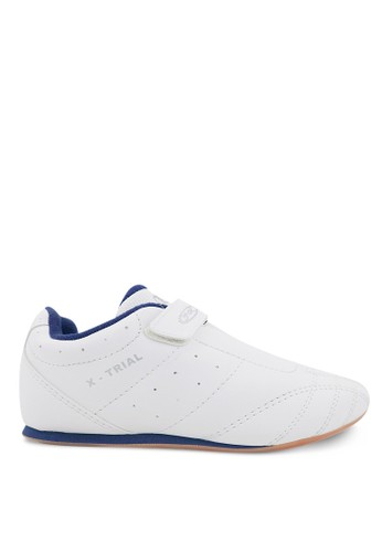 FANS white Fans Rush W Jr - Taekwondo Shoes White Navy 0B60FSH63D3D61GS_1