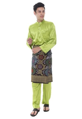 Amar Amran green Baju Melayu Maher Zain 5612EAA0DA40C0GS_1