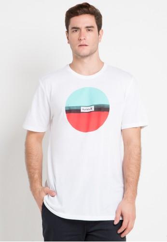 hurley white Dri-Fit Resin T-Shirt ED495AAC2684FDGS_1