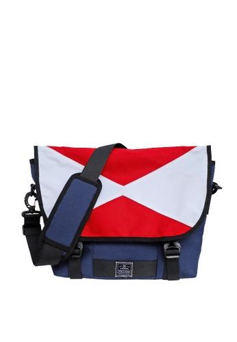 The X Woof blue The X Woof - Sporty Messenger Bag Splash WaterProof, Yssenger-ES 1.0 MY-TXWYRES12 825F5ACB8F54A2GS_1