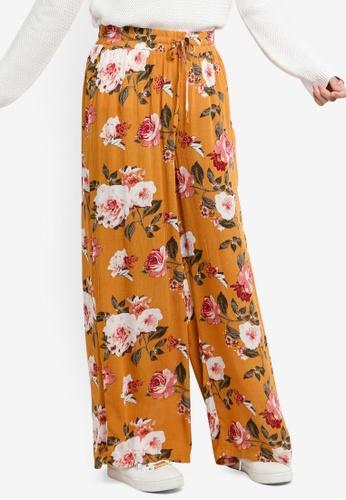 ICHI orange Blossom Pants 678B3AA3A5F492GS_1