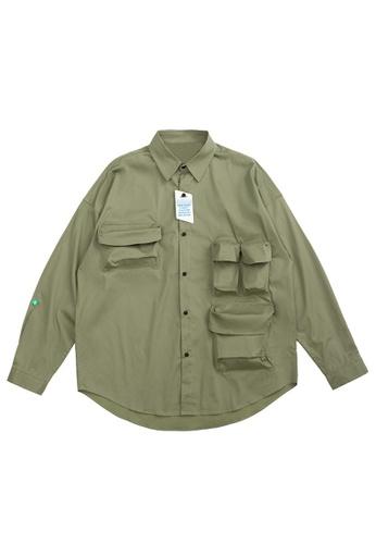 Twenty Eight Shoes Overshirt With Pockets 2100W20 5C67EAA2968156GS_1
