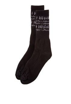 Retro Ribbed Socks