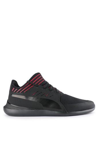 Puma black Sf Evo Cat Mace Shoes EEB7BSH1F5957AGS_1