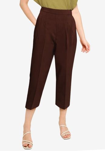 GLOBAL WORK brown WOMEN WOVEN PANTS AD769AA40A1C09GS_1