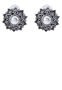 Dazzling Pearl Earrings