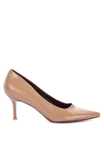 Janylin beige Mid Heels Court Shoes C5A46SH844E8C2GS_1